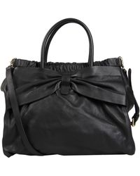 RED Valentino Large Leather Bag - Lyst