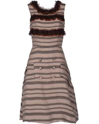 Rodarte Kneelength Dress - Lyst