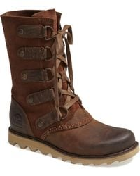 Sorel Scotia Laceup Waterproof Leather Boot - Lyst