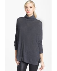 Trouvé  Turtleneck Drape Sweater - Lyst