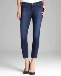 AG Adriano Goldschmied Jeans - The Legging Ankle In Coal Grey - Lyst
