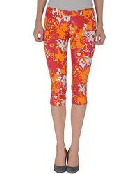 Compagnia Italiana 3/4-Length Trousers - Lyst
