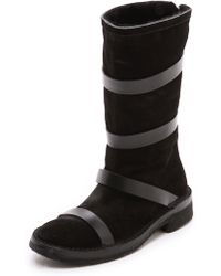 CoSTUME NATIONAL - Boots with Straps - Lyst