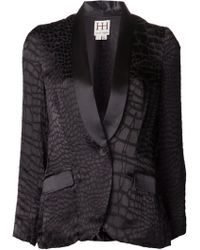 Haute Hippie Long Lapel Blazer - Lyst
