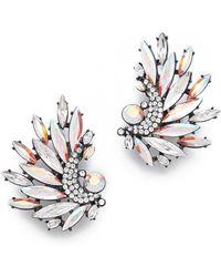 Jenny Packham - Icarus Clip On Earrings I - Lyst