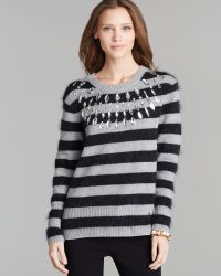 Juicy Couture Sweater Wellington Stripe with Stones - Lyst