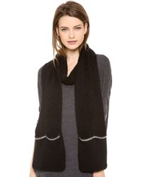 Juicy Couture - Glamour Girl Pocket Scarf - Lyst