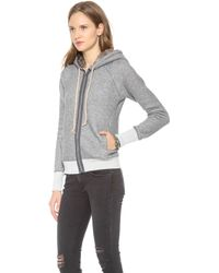 Bliss and Mischief - Roxie Faux Fur Hoodie - Lyst