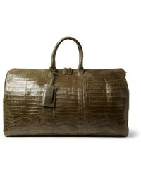 Santiago Gonzalez - Crocodile Holdall Bag - Lyst