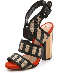 Schutz Domenica Sling Sandals - Lyst