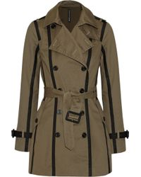 W118 by Walter Baker Annabelle Cotton Trench Coat - Lyst
