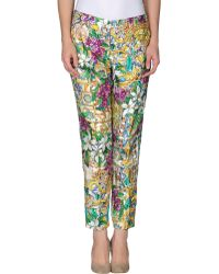 Dolce & Gabbana Casual Trouser - Lyst