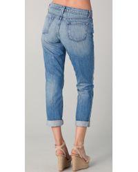 J Brand - Aidan Slouchy Boyfriend Jeans - Lyst