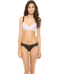 Lonely - Lace Underwire Bra - Lyst