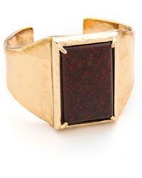 Rose Pierre - Mosaic Tile Cuff Bracelet - Lyst