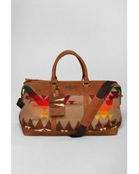 Urban Outfitters - Pendleton Leather Weekender Bag - Lyst e6b88d102ed24