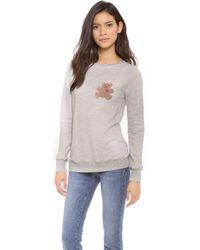A Fine Line - Bear Sweatshirt - Lyst