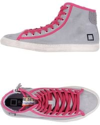 Date High-Top Trainers - Lyst