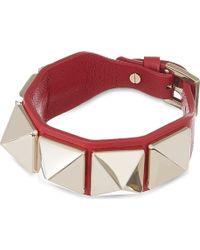 Valentino Large Studded Cuff Bracelet - Lyst