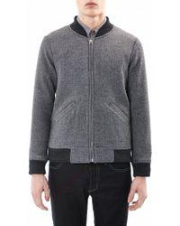Folk Wool Bomber Jacket - Lyst