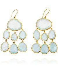 Pippa Small - Aqua Baby Jellyfish Earrings - Lyst