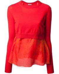 Acne Studios Light Silk Sweater - Lyst