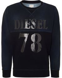 Diesel Block Colour Sweatshirt - Lyst