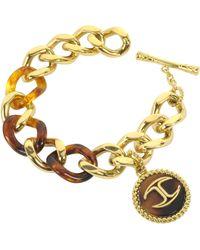 Just Cavalli Nature Golden Stainless Steel Women's Bracelet