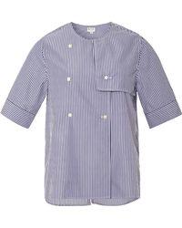 Kule - Thaddeus Double Breasted Shirt Jacket - Lyst