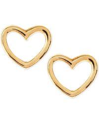 Marc By Marc Jacobs - Love Heart Stud Earrings - Lyst