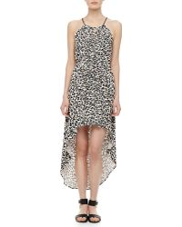 Milly Cheetah-print Hilo Dress - Lyst