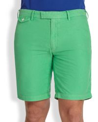 Polo Ralph Lauren Hudson Straight-Fit Shorts - Lyst