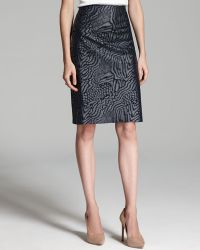 Rachel Roy - Coated Animal Skirt - Lyst