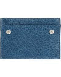 Balenciaga Arena Flat Card Case - Lyst