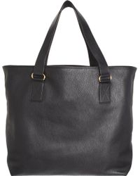 Barneys New York Top Handle Tote - Lyst