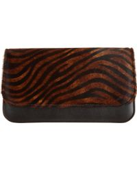 Barneys New York Ponyhair Shoulder Bag brown - Lyst