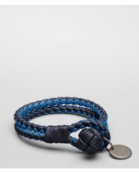 Bottega Veneta | Tourmaline Électrique Intrecciato Nappa Bracelet | Lyst