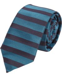 Burberry Prorsum - Horizontal Stripe Skinny Tie - Lyst