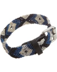 Caputo & Co. Knotted Cord Bracelet - Lyst