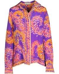Emilio Pucci Long Sleeve Shirt - Lyst