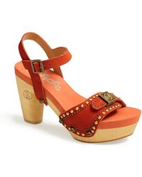 Flogg Fiorella Leather Sandal - Lyst