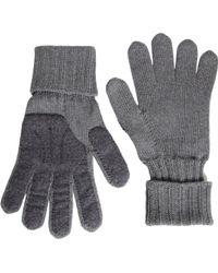 Jil Sander - Felt Palm Long Ribbed Cuff Gloves - Lyst