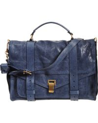 Proenza Schouler Ps1 Large Shoulder Bag - Blue