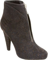 Proenza Schouler Printed Zip Front Ankle Boot - Lyst