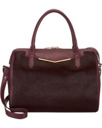 Reece Hudson Calf Hair Medium Bowery Duffel - Lyst