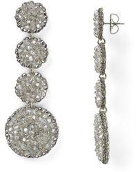 Roni Blanshay - Linear Earrings - Lyst