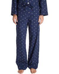 Steven Alan - Leaf and Dot Pajama Pants - Lyst