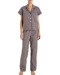 Steven Alan - Cropped Pajama Top - Lyst
