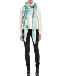 Athena Procopiou - The Ice Queens Flowers Scarf - Lyst
