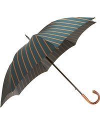 Barneys New York - Striped Stick Umbrella - Lyst